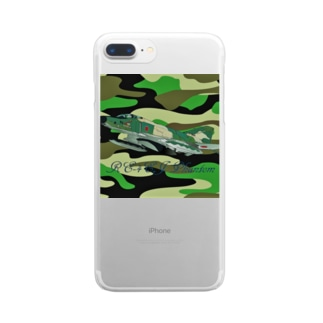 RF-4EJ phantom Clear smartphone cases