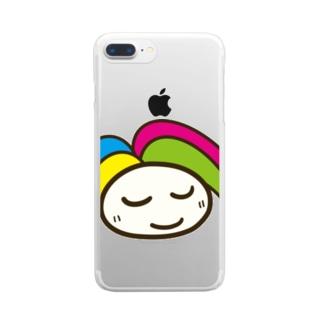 ヒーロの商品 Clear smartphone cases