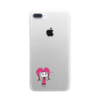 ニンジローニの商品 Clear Smartphone Case