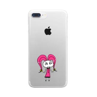 ニンジローニの商品 Clear smartphone cases