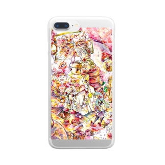 秘密基地 Clear smartphone cases
