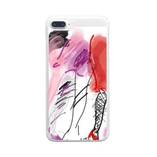 レッグス Clear smartphone cases