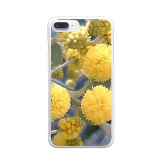 黄金の香り クリアスマートフォンケース