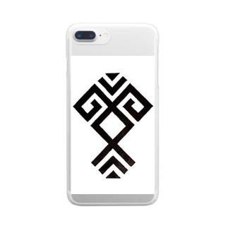 サンダル Clear smartphone cases