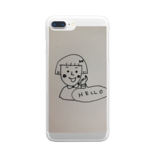 Hello Clear smartphone cases