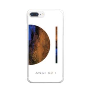 「AWAI KO I」/ 014 クリアスマートフォンケース