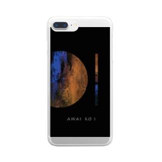 「AWAI KO I」/ 015 Clear smartphone cases