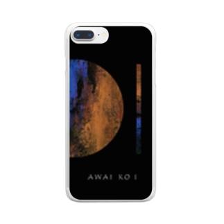 「AWAI KO I」/ 015 クリアスマートフォンケース