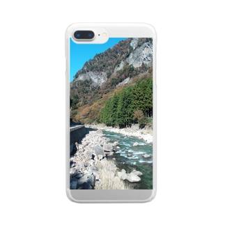 和泉商店(仮)の某名所シリーズ 奈良編 Clear smartphone cases