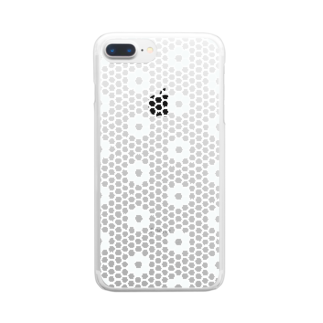 PAPER  HEKISUIのtile Clear smartphone cases