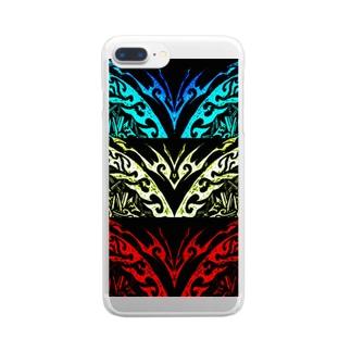THREEpattern Clear smartphone cases