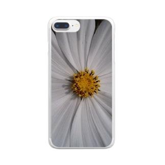 その純粋な心で・・・ Clear smartphone cases