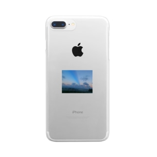 buru-ロード Clear smartphone cases