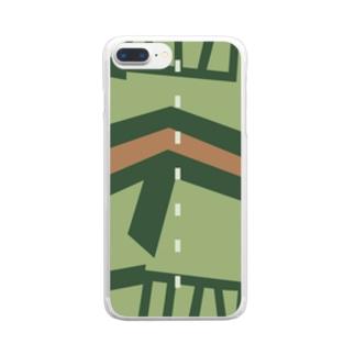 瑞鶴ノ甲板 Clear smartphone cases