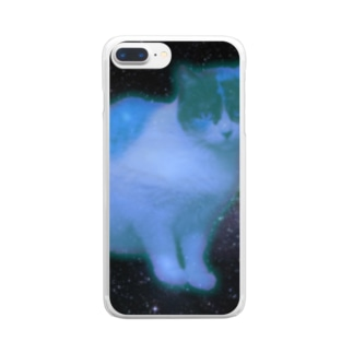 My Space Cat 1 Clear smartphone cases