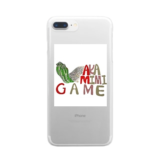 AKAMIMIGAME Clear smartphone cases