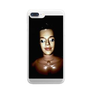 縺イ縺ィ縺ェ縺舌j縺薙¢縺のンヌグム Clear smartphone cases