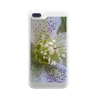 聖母マリア様へのプレゼント Clear smartphone cases