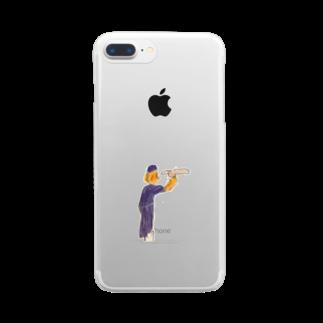 metaのペルリンのヒットマン Clear smartphone cases