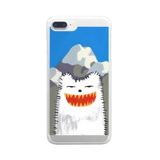 夏山 Clear smartphone cases