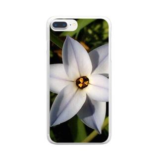 ほんのり…ほんのり… Clear smartphone cases