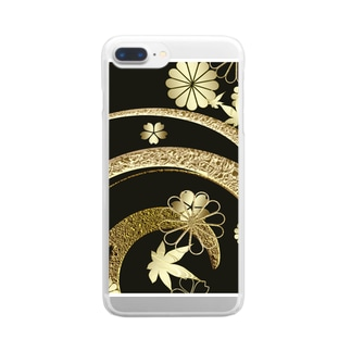 波源 Clear smartphone cases