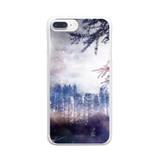 幻想的風景1 Clear smartphone cases