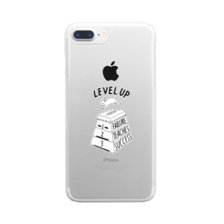 LEVEL UP FTS Clear smartphone cases