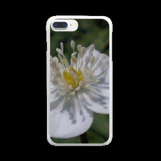 Dreamscapeの純白の心と・・・ Clear smartphone cases