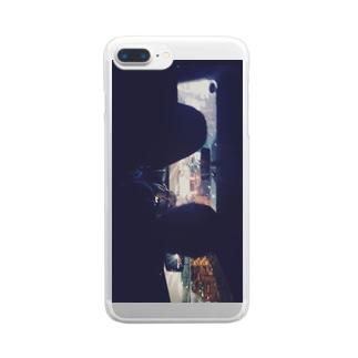 雨の日 Clear smartphone cases
