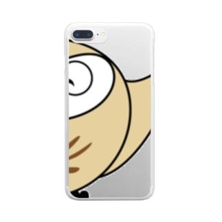 ちえぶくろう Clear smartphone cases