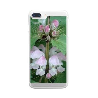 ダンシング Clear smartphone cases