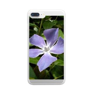 空と呼応して Clear smartphone cases
