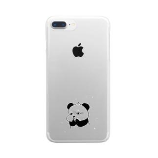 わくわく不安不安 Clear smartphone cases