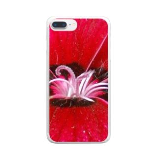 情熱的に・・・ Clear smartphone cases