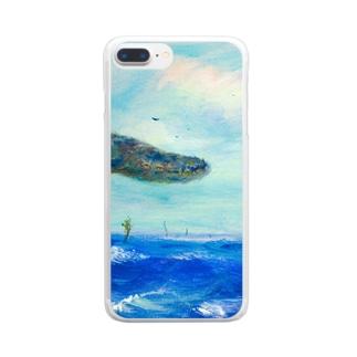 ムラナギ/南風のジキム Clear smartphone cases