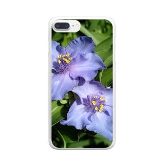 美人さん Clear smartphone cases