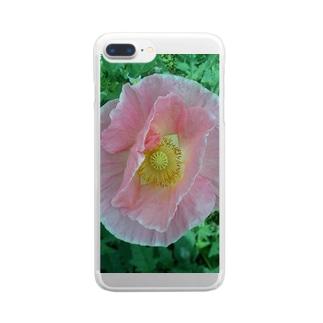 ♡薄化粧♡ Clear smartphone cases