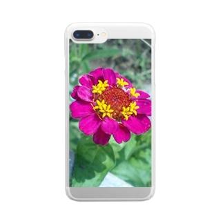パッションカラー Clear smartphone cases