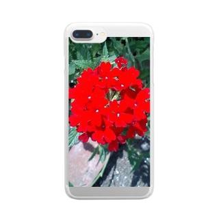 舞妓さんのかんざし Clear smartphone cases