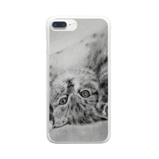 「もうすぐとどくよ!」 Clear smartphone cases