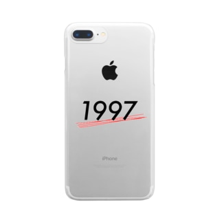 1997 Clear smartphone cases