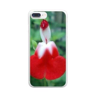 フラメンコ Clear smartphone cases