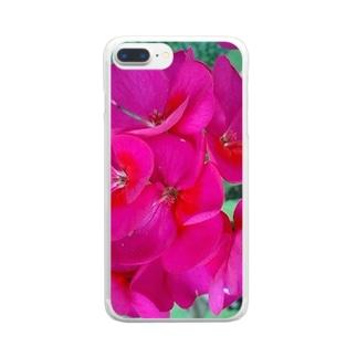 愛の行方 Clear smartphone cases