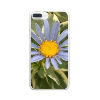 ブルースカイ Clear smartphone cases