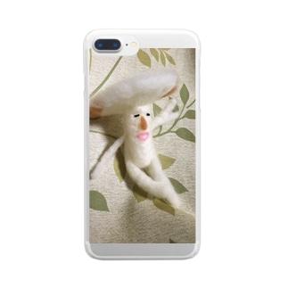 僕キノコだよっ Clear smartphone cases