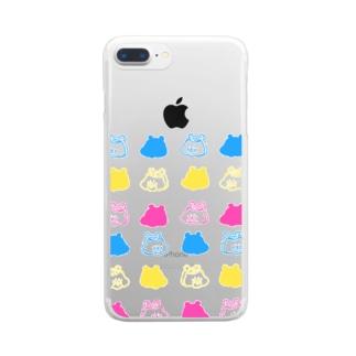 ハムオ  Clear smartphone cases