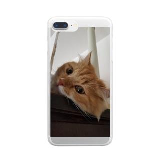 とわの手 Clear smartphone cases