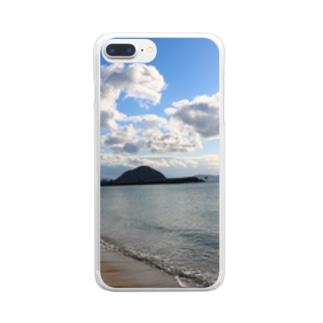 瀬戸内海 Clear smartphone cases