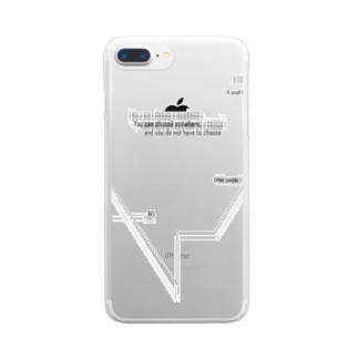 One for all, All for one Clear smartphone cases
